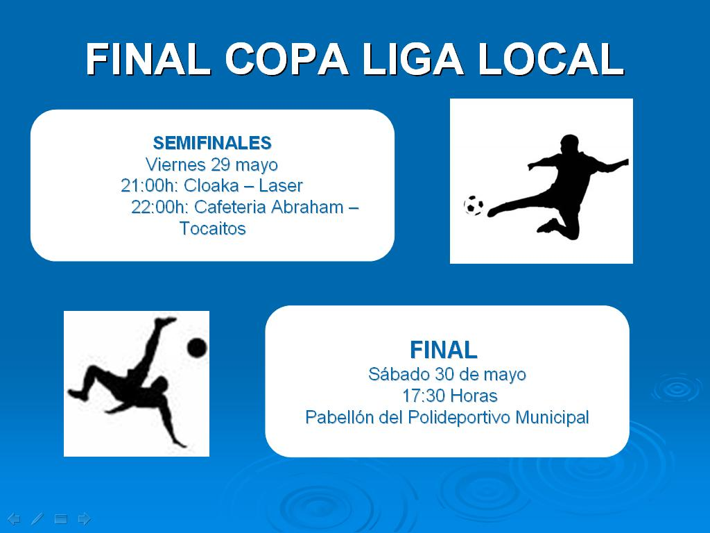 final copa lliga local CASTALLA